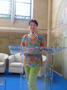Patricia Andriot, Vice-Présidente à l'Economie Sociale et Solidaire